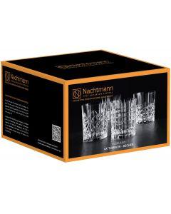 Set 4 Vasos Cristal Nachtmann Highland Whisky