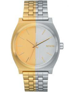 Reloj Análogo Nixon Time Teller Gold/Silver