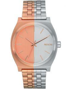 Reloj Análogo Nixon Time Teller Rose Gold/Siver