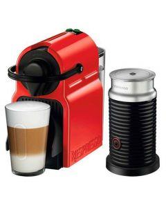 Cafetera Nespresso Inissia Red + Aero3