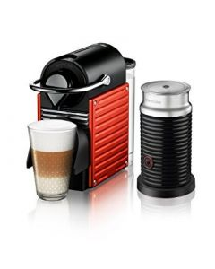 Cafetera Nespresso Pixie Red + Aero3
