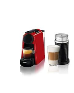 Cafetera Nespresso Essenza Mini Red + Aero3