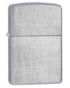 Encendedor Zippo Linen Weave Plata