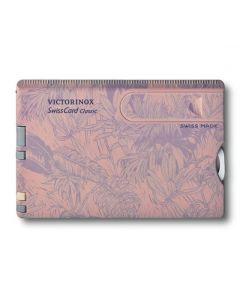 Navaja Victorinox SwissCard Rosa