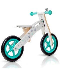 Bicicleta Infantil de Madera Buppi Toys Classic Verde Aqua