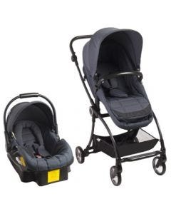 Coche Travel System Bebesit loop Gris
