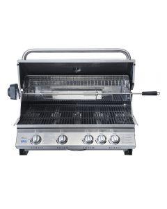 Parrilla Kansas 4Q Empotrada BBQ Grill BBQ401E Inox