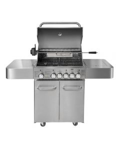 Parrilla Dallas 4Q Inox BBQ Grill BBQ403GCINOX Inox