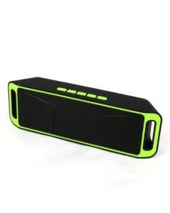 Parlante Tecno Portátil Bluetooth Megabass Verde