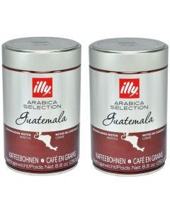 Café En Grano Illy 2x Guatemala 100% Arábica 250 gr