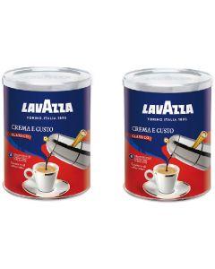 Café Molido Lavazza 2x Crema & Gusto 250 gr