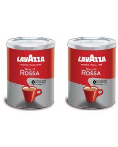 Café Molido Lavazza 2x Qualitá Rossa 250 gr