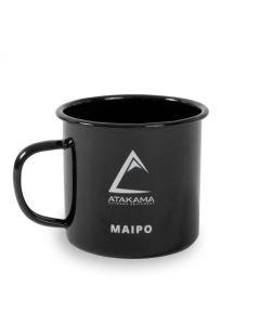 Tasa De Camping Atakama Outdoor Maipo Negro 480 ML