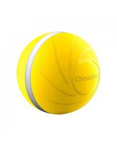 Mini Bola Juguete Para Mascota Cheerble Wicked Ball Amarillo