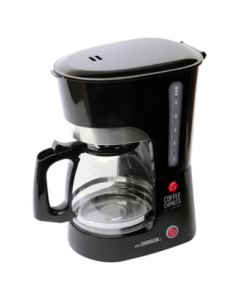 Cafetera Eléctrica Sindelen CF-1500NG Coffee Express Negra