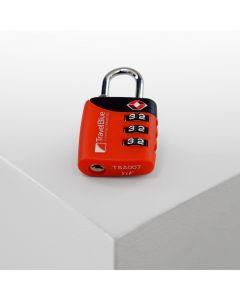 Candado De Combinación Dial Tsa Travel Blue TB-029RD Rojo