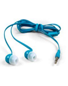 Auriculares Sin Enredos Travel Blue TB-553BL Azul