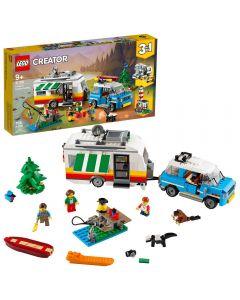 Vacaciones Familiares En Remolque LEGO Creator