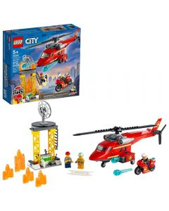 Helicóptero De Rescate De Bomberos LEGO City
