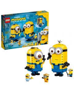 Minions Y Su Guarida Para Construir LEGO Minions