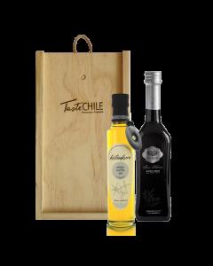 Caja Aceite Fine Selection + Trufa Blanca TasteChile CM001
