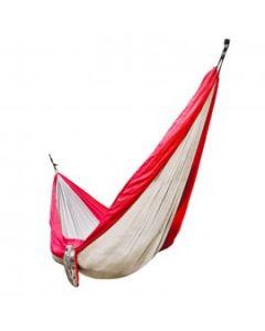Hamaca Single Atakama Outdoor Coihue Rojo