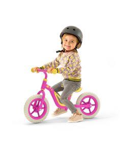 Bicicleta Aprendizaje Niños Chillafish Charlie Rosa Amarilla