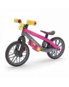 Bicicleta De Aprendizaje Niños Chillafish Bmxie 03 Moto Rosa