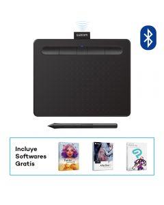 Tablet Bluetooth Wacom Intuous Creative Pen Small Negro