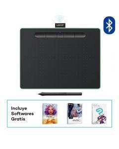 Tablet Bluetooth Wacom Intuous Creative Pen Medium Pistacho