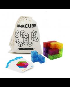 Juego Magnético Imacube Cubo 7 Piezas