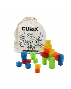 Juego Magnético Cubix Cubo 50 Piezas
