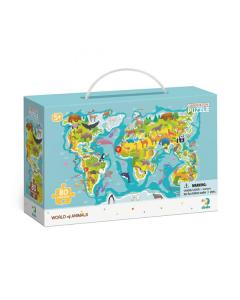 Puzzle DoDo D0301 Mundo de Animales 80 piezas
