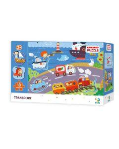Puzzle DoDo D300158 Clasificador Transporte 18 piezas