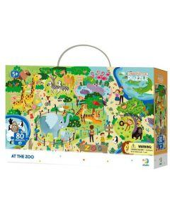 Puzzle DoDo D300259 En el Zoologico 80 piezas
