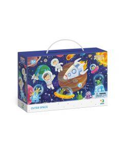 Puzzle Dodo Observación Espacio Azul
