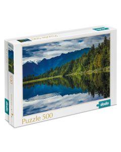 Puzzle Dodo Lago Mathenson 500 Piezas Azul