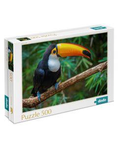 Puzzle Dodo Tucan 500 Piezas Negro