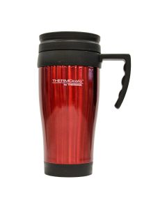 Mug Thermos Acero Insulado 400 ml Rojo