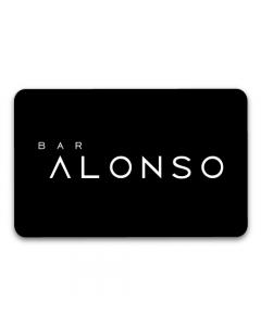 Gift Card $25.000 en Bar Alonso