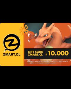 GiftCard $10.000 en Tiendas ZMART