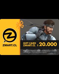 GiftCard $20.000 en Tiendas ZMART