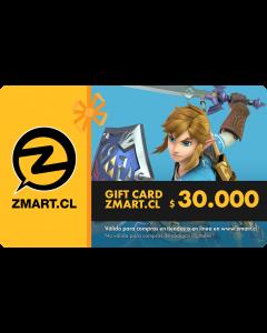 GiftCard $30.000 en Tiendas ZMART