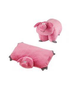 Almohada Plegable Pig Go Travel GT2692 Rosado