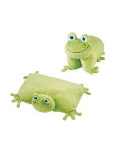 Almohada Plegable Frog Go Travel GT2694 Verde claro