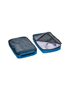 Organizador Cubos 2 Piezas Go Travel GT285 Azul