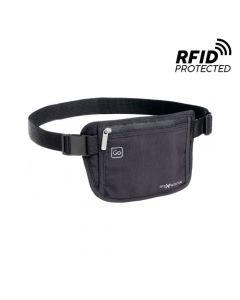 Porta Dinero Go Travel RFID con Bloqueo Negro