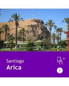 Gift Travel Card - Descuento de $31.500 para ruta Santiago / Arica (ida y vuelta)
