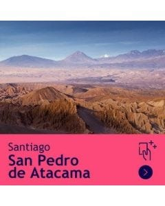 Gift Travel Card - Descuento de $5.500 para ruta Santiago / Calama (ida y vuelta)