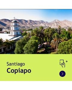Gift Travel Card - Descuento de $31.500 para ruta Santiago / Copiapó (ida y vuelta)